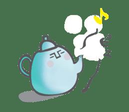 The Tea Space sticker #622306