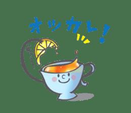 The Tea Space sticker #622307