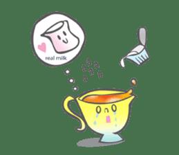 The Tea Space sticker #622309