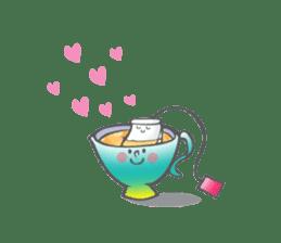 The Tea Space sticker #622314