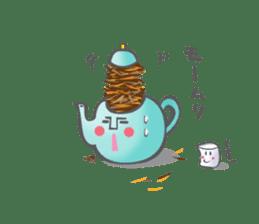 The Tea Space sticker #622315