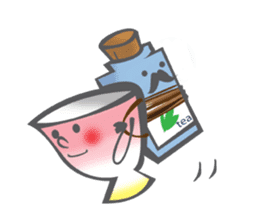 The Tea Space sticker #622316