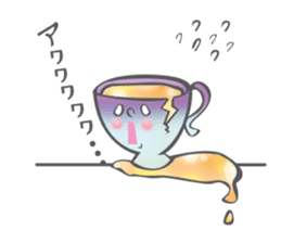 The Tea Space sticker #622317