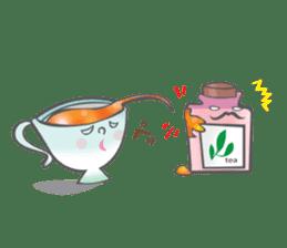 The Tea Space sticker #622320