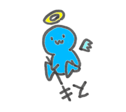 A different living thing sticker #622642