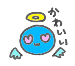 A different living thing sticker #622654