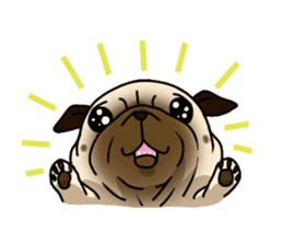 PUGchan sticker #622724