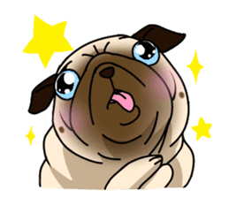 PUGchan sticker #622730