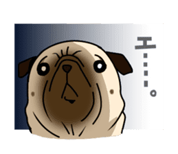 PUGchan sticker #622732