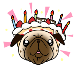 PUGchan sticker #622733