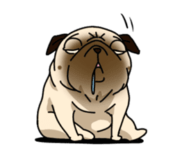 PUGchan sticker #622734