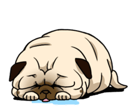 PUGchan sticker #622735