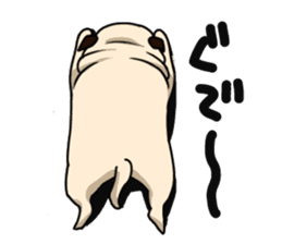 PUGchan sticker #622736