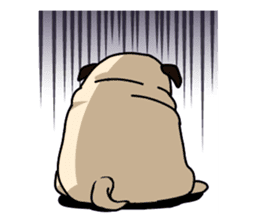 PUGchan sticker #622738