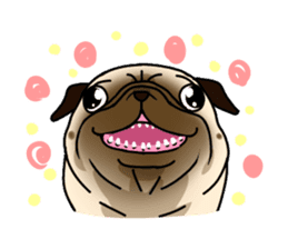 PUGchan sticker #622740