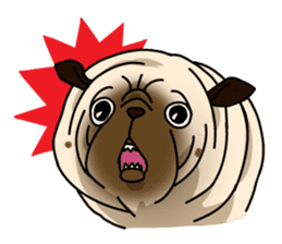 PUGchan sticker #622758