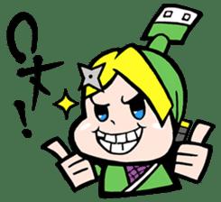 NET SAMURAI / by sue-hilo sticker #622882