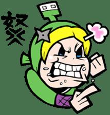 NET SAMURAI / by sue-hilo sticker #622885