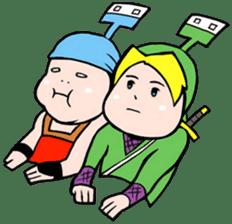 NET SAMURAI / by sue-hilo sticker #622892