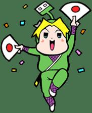 NET SAMURAI / by sue-hilo sticker #622905