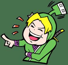 NET SAMURAI / by sue-hilo sticker #622915
