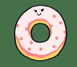 Donut sticker #623163