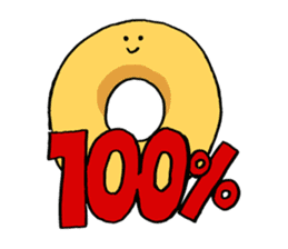 Donut sticker #623170
