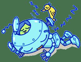 Robo-Trash! sticker #623532