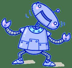 Robo-Trash! sticker #623543