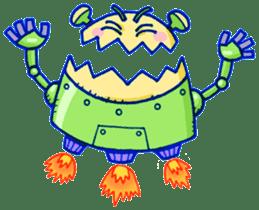 Robo-Trash! sticker #623550