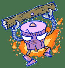 Robo-Trash! sticker #623553