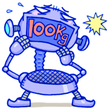 Robo-Trash! sticker #623555