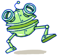 Robo-Trash! sticker #623556