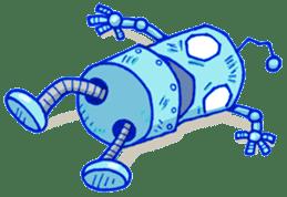 Robo-Trash! sticker #623558