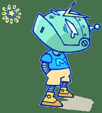 Robo-Trash! sticker #623559