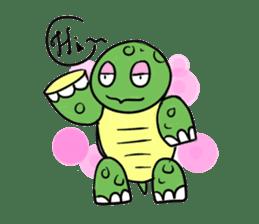 Turtle Half Eye sticker #623762