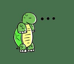 Turtle Half Eye sticker #623763