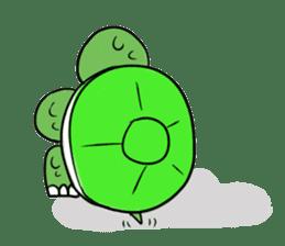 Turtle Half Eye sticker #623765