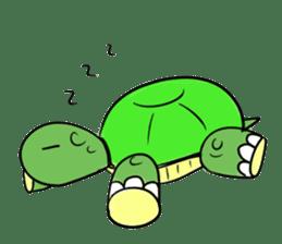 Turtle Half Eye sticker #623766