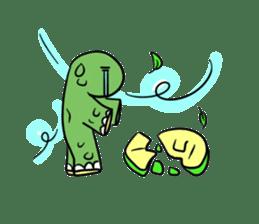Turtle Half Eye sticker #623772