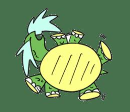 Turtle Half Eye sticker #623776