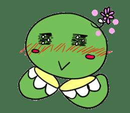 Turtle Half Eye sticker #623783