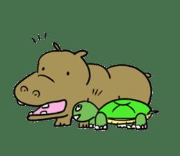 Turtle Half Eye sticker #623785