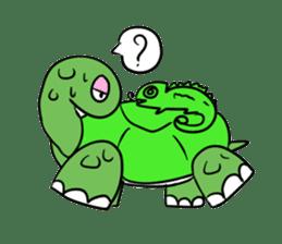 Turtle Half Eye sticker #623786