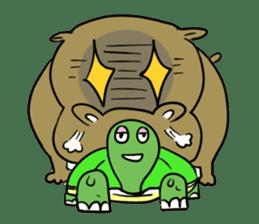 Turtle Half Eye sticker #623798