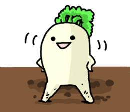 Angry vegetables sticker #624203