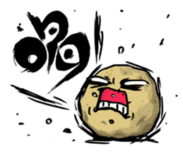 Angry vegetables sticker #624213