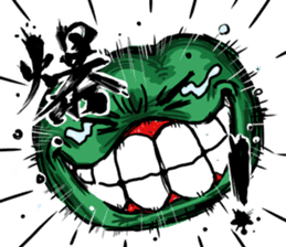 Angry vegetables sticker #624217