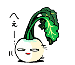 Angry vegetables sticker #624218