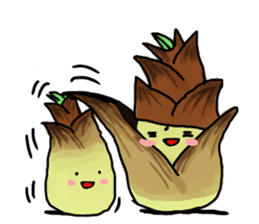 Angry vegetables sticker #624236